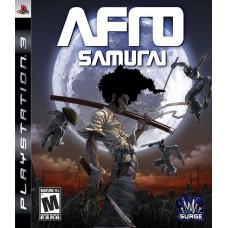 PS3 AFRO SAMURAI - USADO