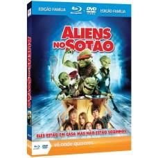 FILME ALIENS NO SOTÃO BLU-RAY+DVD USADO