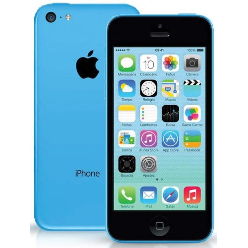APPLE IPHONE 5C 16GB LIVRE AZUL - USADO