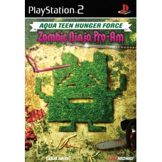 PS2 Aqua Teen Hunger Force - Zombie Ninja Pro-Am - Usado