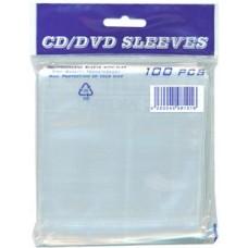 Bolsas Plastico para CD/DVD individuais - Pack 100