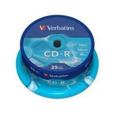 CD-R 700MB VERBATIM-PACK 25