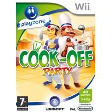 WII COOK-OFF PARTY-USADO