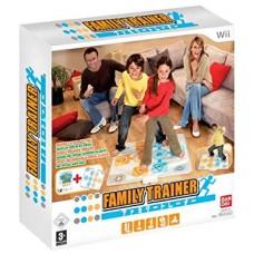 WII FAMILY TRAINER COM TAPETE - USADO