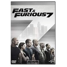 FILME FAST & FURIOUS 7 DVD - USADO