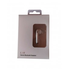 L 15 STEREO BLUETOOTH HEADSET BRANCO