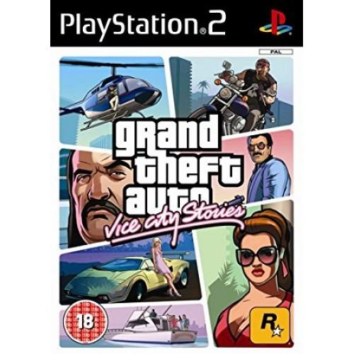 PS2 GRAND THEFT AUTO: VICE CITY STORIES - USADO SEM CAIXA