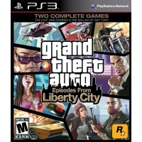 PS3 GRAND THEFT AUTO EPISODES FROM LIBERTY CITY - USADO