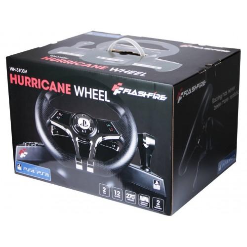 VOLANTE  PS4 HURRICANE WHEEL-3103V PS4 / PS3