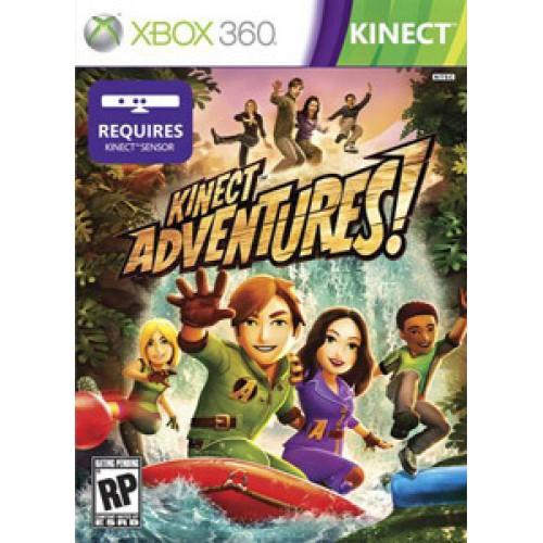 XBOX360 KINECT ADVENTURES - USADO