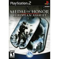 PS2 MEDAL OF HONOR EUROPEAN ASSAULT - USADO