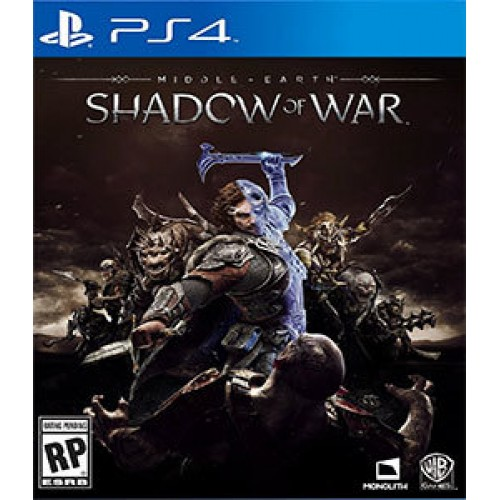 PS4 MIDDLE EARTH SHADOW OF WAR - USADO