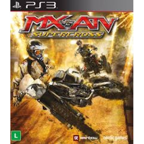 PS3 MX VS ATV - SUPERCROSS - USADO