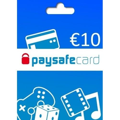 CARTÃO PAYSAFECARD - 10€