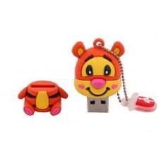 PEN USB 8GB TIGRE - NOVO