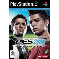 PS2 Pro Evolution Soccer 2008 - Usado