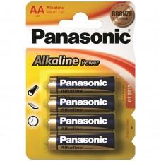 PILHAS ALKALINE AA LR06 1.5V PANASONIC
