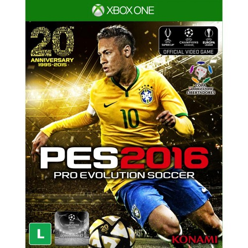 XBOX ONE PRO EVOLUTION SOCCER 2016 - USADO