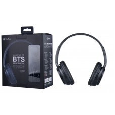 HEADPHONES BTS BLUETOOTH C6347 BLACK ONEPLUS