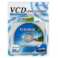 KIT LIMPEZA DE LENTES DVD CD-ROM CD VCD/ PS2/ PS3