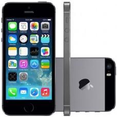 APPLE IPHONE 5S 16GB LIVRE SPACE GRAY ( SEM TOUCH ID) - USADO