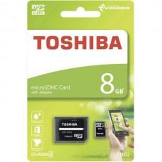 CARTÃO MEMÓRIA MICROSDHC 8GB M102 TOSHIBA