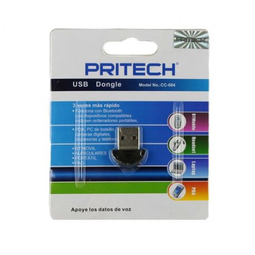 ADAPTADOR USB BLUETOOTH PRITECH