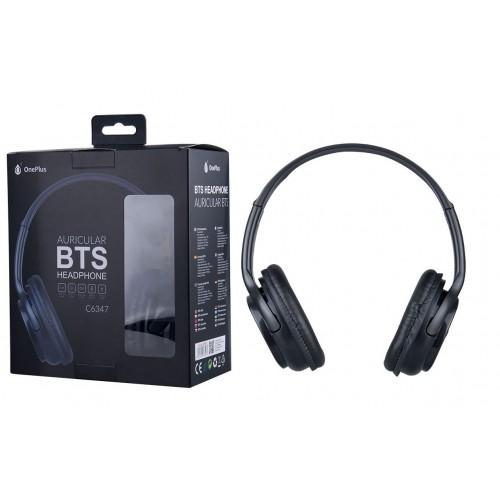 HEADPHONES BTS BLUETOOTH K3608 PRETO MTK