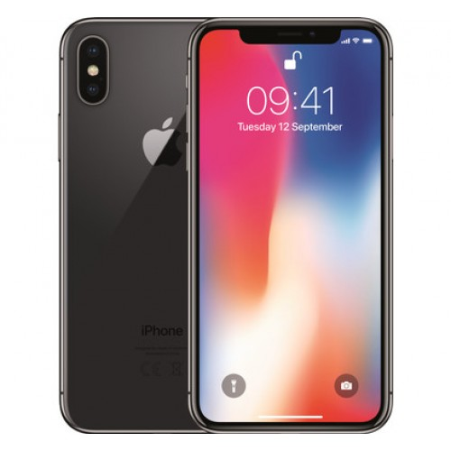 APPLE IPHONE X 64GB LIVRE SPACE GREY (R4) - USADO