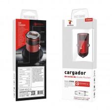 CARREGADOR DE ISQUEIRO 1X USB 3A + CABO USB TYPE C  CCQ03S  LT PLUS