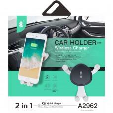 SUPORTE AUTOMÓVEL SMARTPHONES CARREGAMENTO WIRELESS  A2962 ONEPLUS