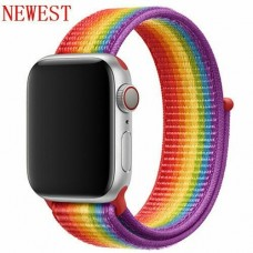BRACELETE LOOP DESPORTIVA APPLE WATCH 40MM 42MM PRIDE COMPATIVEL
