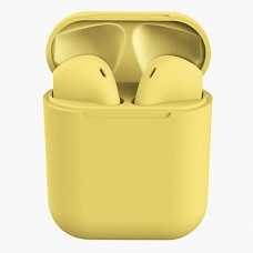 INPODS AURICULARES BLUETOOTH I12 IOS /ANDROID AMARELO
