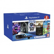 SONY PS4 VR MEGA PACK 5 JOGOS  VR WORLDS + ASTROBOT + SKYRIM + RESIDENT EVIL BIOHAZARD + EVERYBODYS GOLF