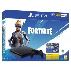 CONSOLA SONY PS4 SLIM 500GB + FORTNITE VOUCHER 2019