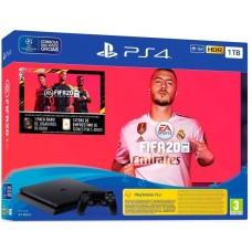 CONSOLA PS4 1TB PRETA + FIFA 20