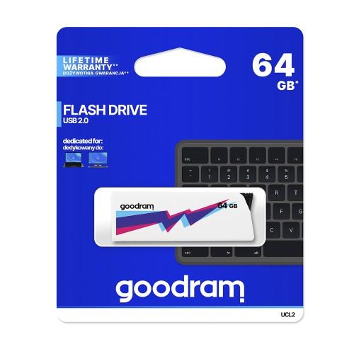 PEN DRIVE GOODRAM 64GB CLICK USB 2.0