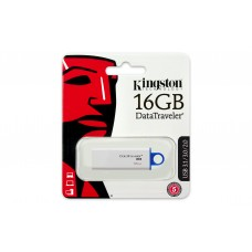 PEN DRIVE KINGSTON 16GB DATATRAVELER G4 BLUE USB 3.0 -DTIG4