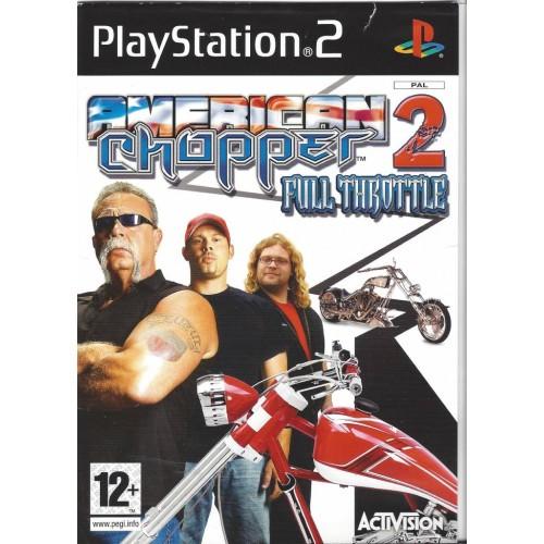 PS2 AMERICAN CHOPPER 2 FULL THROTTLE- USADO