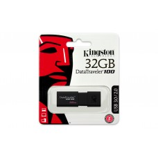 PEN DRIVE KINGSTON 32GB DATATRAVELER 100 G3 USB 3.0 -DT100G