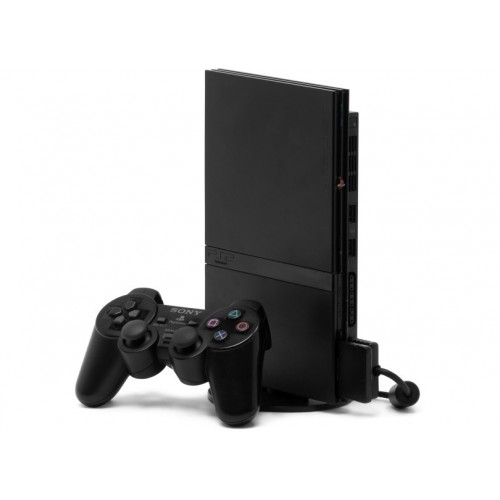 CONSOLA SONY PLAYSTATION 2 SLIM 70004 BLACK - USADA