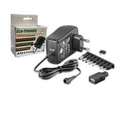 TRANSFORMADOR UNIVERSAL 100-240VAC P/ 3 A 12VDC 1500 MAH KONNOC