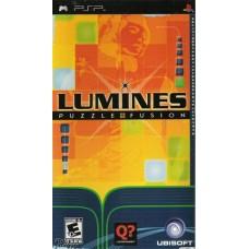 PSP LUMINES PUZZLE FUSION - USADO SEM CAIXA