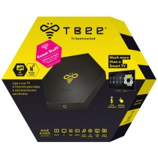 TBEE BOX SMART TV ANDROID V2  PRETO - USADA
