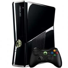 CONSOLA XBOX360 SLIM 250GB PRETA BRILHANTE  - USADA