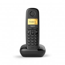 TELEFONE FIXO SEM FIOS SIEMENS GIGASET A170 PRETO