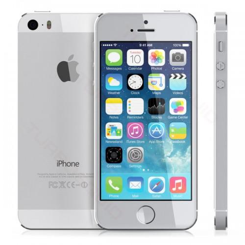 APPLE IPHONE 5S 16GB LIVRE SILVER - USADO