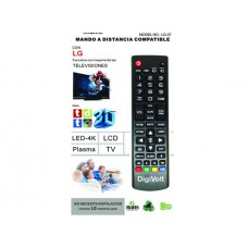 COMANDO TV UNIVERSAL LG LG-37 DIGIVOLT