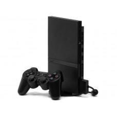 CONSOLA PLAYSTATION 2 SLIM 79001 BLACK DESBLOQUEADA - USADA