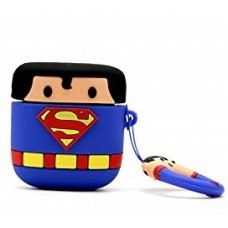 AIRPODS CARRYING CASE SUPERMAN